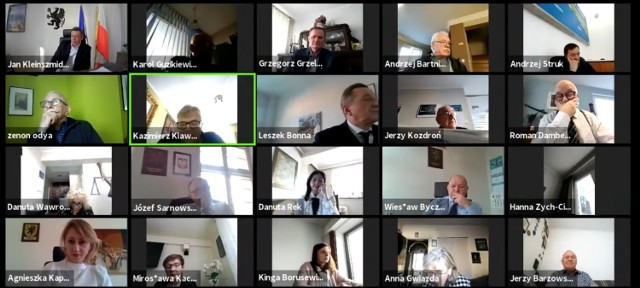 Ujęcie z sesji Sejmiku Województwa Pomorskiego z 22.02
