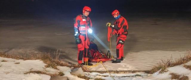 18 lutego strażacy z Żor również ruszyli na ratunek sarnie. Wtedy historia zakończyła się szczęśliwie