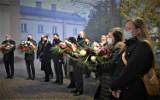 Bełchatów. Uroczystości z okazji Narodowego Dnia Pamięci Żołnierzy Wyklętych, 1.03.2021