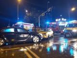 Groźny wypadek w sobotni wieczór koło Galerii Słonecznej w Radomiu! Były duże utrudnienia [ZDJĘCIA]