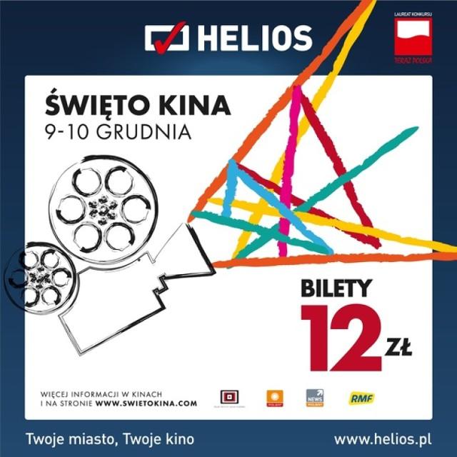 """""""Święto Kina"""" już 9 i 10 grudnia! Kina Helios zapraszają na tanie seanse!"""