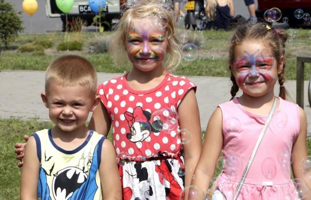 Organizatorzy pikniku charytatywnego zadbali o atrakcje dla dzieci i dorosłych. Dochód przeznaczony zostanie na leczenie Roberta Rezmera, nauczyciela historii z Grudziądza walczącego z białaczką