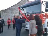 Nowy wóz bojowy trafił do strażaków z Łagiewnik Wielkich w gminie Pawonków