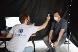 Mobilny punkt szczepień w Bełchatowie. W weekend można się zaszczepić jedną dawką na covid-19, 3.07.2021