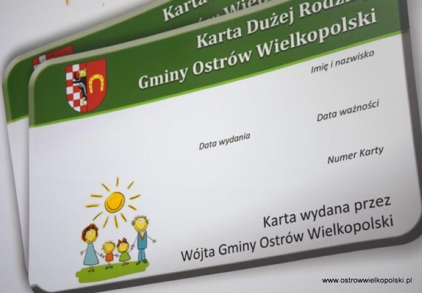 Karta Dużej Rodziny Gminy Ostrów Wielkopolski - to już dwa lata!