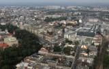Tak wyglądał Kraków z lotu ptaka 10 lat temu [GALERIA]