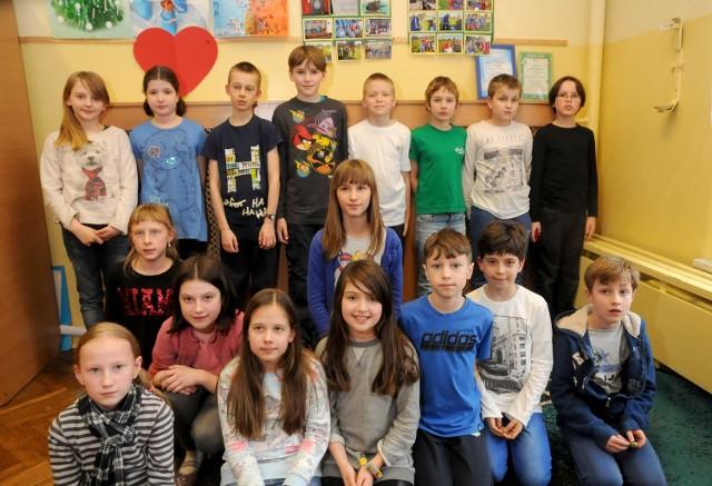 W ub. roku najlepszą podstawówką samorządową okazała się Szkoła Podstawowa nr 32. Na zdjęciu uczniowie z klasy 4b