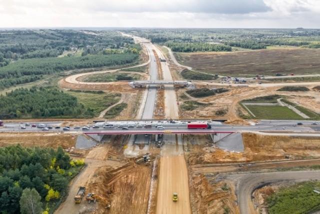 Budowa autostrady A1, wrzesień 2019