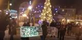 """Strajk kobiet w Wejherowie. Po centrum miasta przeszedł """"cichy marsz"""""""