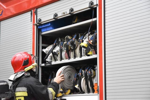 Pierwszego dnia zajęć doszło do symulowanego ataku terrorystycznego oraz pożaru w budynku Urzędu Gminy Ryjewo