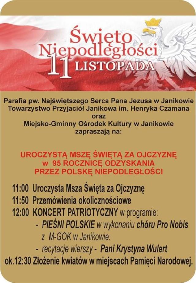 Obchody święta Niepodległości W Janikowie Warszawa Nasze