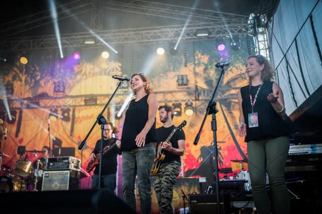 Doskonała atmosfera towarzyszyła występom wszystkich artystów w trakcie reggae festiwalu w Wodzisławiu.