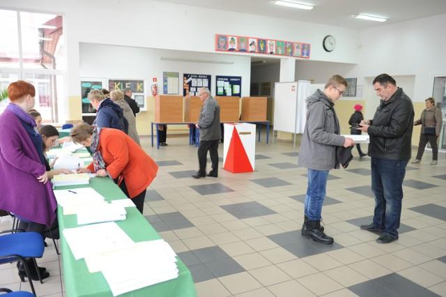 Wybory parlamentarne w Mikołajkach Pomorskich