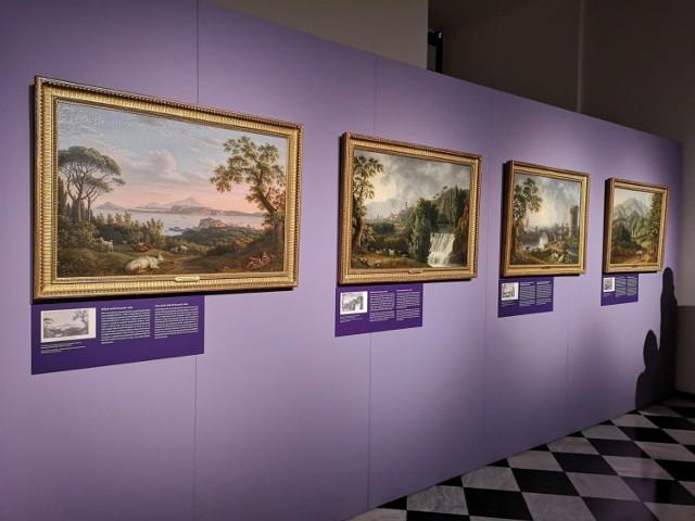 Obrazy Jakoba Philippa Hackerta trafiły na Wawel dzięki dotacji celowej Ministra Kultury, Dziedzictwa Narodowego i Sportu