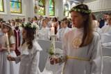 Pierwsza Komunia Święta w kościele Matki Boskiej Nieustającej Pomocy w Pruszczu Gdańskim  ZDJĘCIA