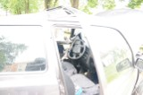Śrem: volkswagen golf roztrzaskany przy Jarzębince