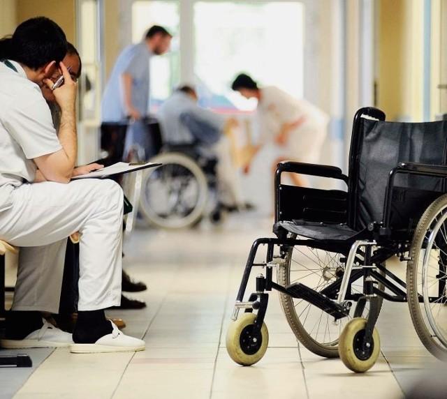 Tam, gdzie są zajęcia z rehabilitacji, tam zawsze można spotkać  chorych na stwardnienie rozsiane
