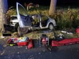 Dwie osoby ranne w wypadku w gminie Lichnowy