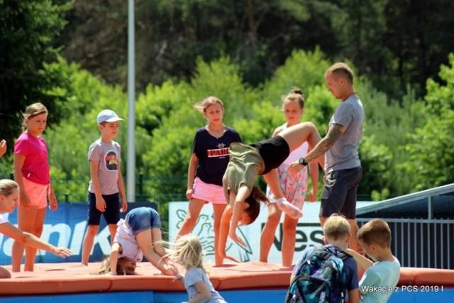 Tak było na wakacjach w Powiatowym Centrum Sportu w Bełchatowie przed rokiem