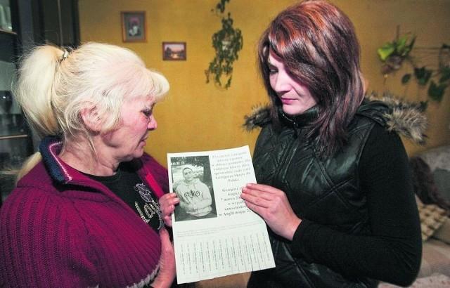 Mama i siostra Grzegorza wciąż nie mogą uwierzyć, że chłopak nie żyje. W Anglii miał zarobić  na życie, a stracił je w wypadku samochodowym