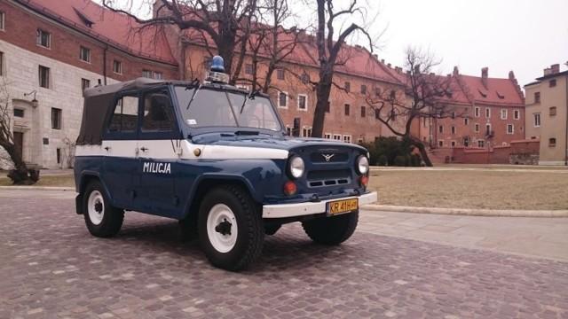 Radiowóz UAZ 469B Papieski – przekazany przez Komendę Wojewódzką Policji w Krakowie