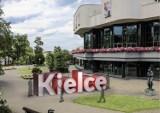 Projekt napisu KIELCE jest gotowy. Czy doczeka się realizacji i napis pojawi się przed Kieleckim Centrum Kultury?