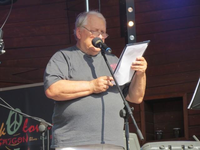 Marek Gaszyński na ubiegłorocznym festiwalu