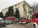 Pożar w jednym z pokoi Hotelu Łuczyński w Końskich. Była ewakuacja, jedna osoba poszkodowana