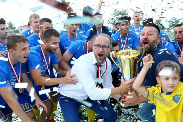 26 czerwca Puchar Polski zdobyła Unia Skierniewice