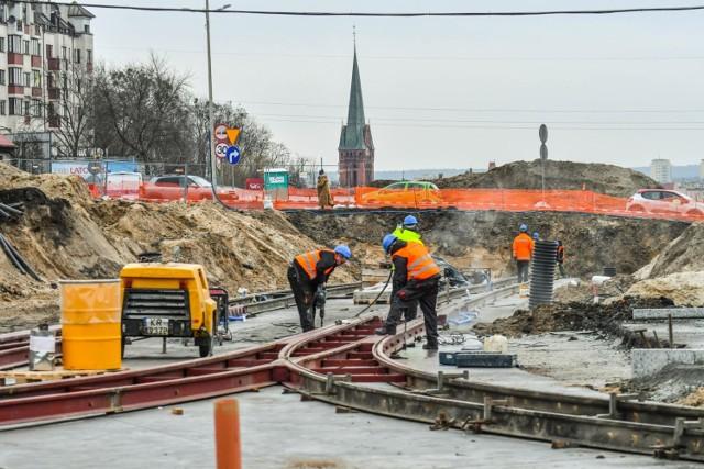 Zobaczcie najnowsze zdjęcia z placu budowy na ulicy Kujawskiej w Bydgoszczy >>