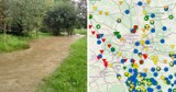 Wysokie stany rzek w Śląskiem. Są już stany alarmowe [III najw. stopień]. Setki interwencji strażaków. Wylewa Odra, Wisła, Pszczynka...
