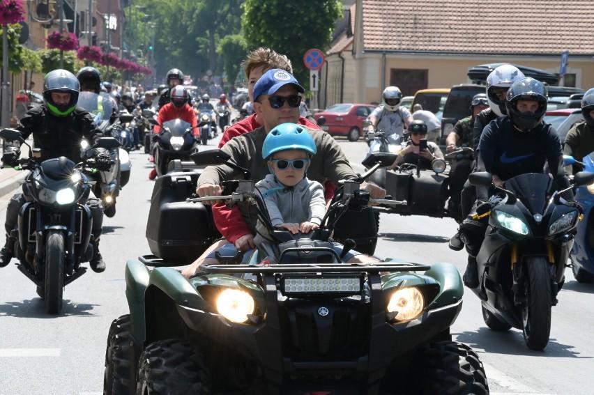 Parada Motocyklowa 2021 w Sierakowie