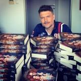 Spotkanie z Igorem Brejdygantem w bibliotece w Zduńskiej Woli on-line ZDJĘCIA