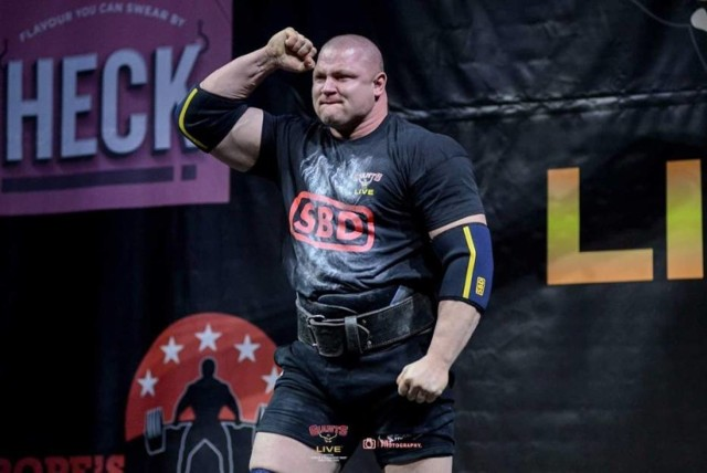 Strongman Mateusz Kieliszkowski ma już na swoim koncie wiele sukcesów na arenie międzynarodowej.