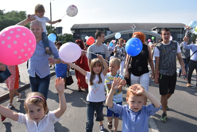 Marsz dla życia i rodziny w Jastrzębiu-Zdroju