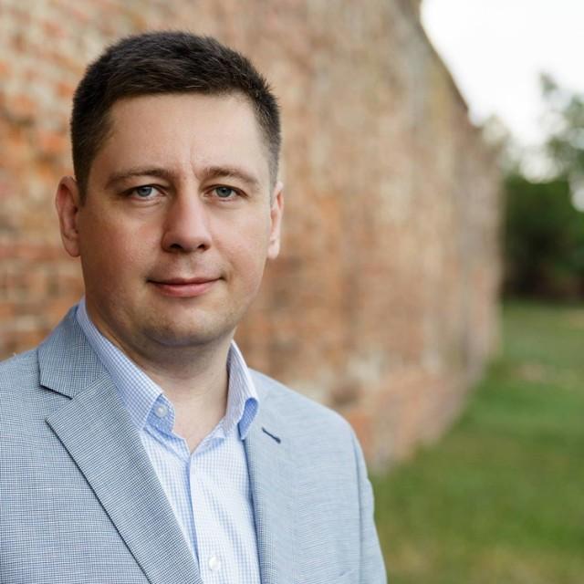 Burmistrz Bierutowa Piotr Sawicki