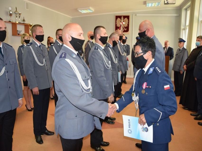 Święto Policji 2021 w Komendzie Powiatowej Policji w Pucku