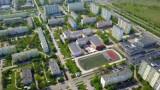 Skarpa z lotu ptaka. Zdjęcia z drona. Zobacz, jak z góry wygląda jedno z największych osiedli Torunia [ZDJĘCIA]