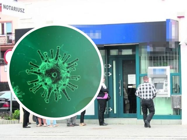 Koronawirus w banku we Włocławku
