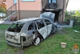Podpalił rodzinny samochód. Bo syn zabronił mu jeździć