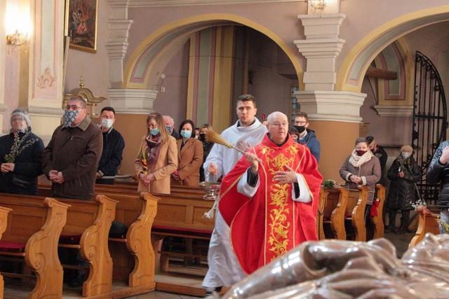 Niedziela Palmowa w klasztorze bernardynów w Warcie