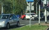 Katowice: Wypadek na skrzyżowaniu Chorzowskiej z Bracką. Gigantyczne korki