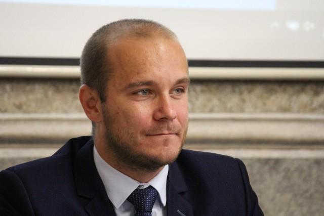 Maciej Kamiński, radny miejski Prawa i Sprawiedliwości, przewodniczący Rady Miejskiej w Przemyślu.