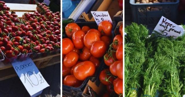 Ceny warzyw i owoców na targowiskach na Pomorzu. Kliknij w zdjęcia i porównaj ceny na targowiskach w różnych miastach >>>  Ile kosztują pomidory czy truskawki w tym roku? Ile zapłacimy za szczypior czy sałatę? Sprawdźcie cennik!
