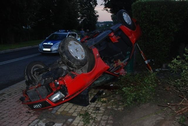 Na początku sierpnia wypadku na ul. Hallera w Kwidzynie zginął 23-letni kierowca audi - CZYTAJ WIĘCEJ>