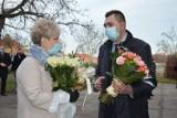 XXX-lecie samorządu w Małomicach z życzeniami dla pani burmistrz za prawie 15 lat sprawowania urzędu