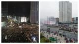 Dwa marsze, dwie Polski? Porównaliśmy zdjęcia Strajku Kobiet i Marszu Niepodległości