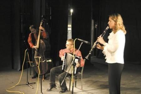Zespół The Galizyamer Clezmorim, czyli trio galicyjskie, naprawdę oczarował słuchaczy.