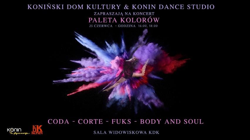 Konin. Paleta kolorów na zakończenie roku artystycznego. Po długiej przerwie tancerze z KDK nareszcie wystąpią na rodzinnej scenie