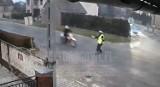 W Tarnowie Opolskim motocyklista potrącił policjanta i uciekł. W czwartek zgłosił się na policję, to 16-latek